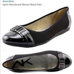 Anne Klein Sport black flats size 8